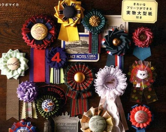 Beautiful Rosette Corsages - Japanese Craft Book MM