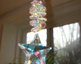 Swarovski A.B. Crystal Star Sun Catcher