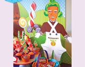 WONKA Inspired Party Oompa Loompa Large - DIY Printable - Customised digital file
