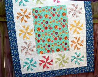 Block Party Quilt blanket