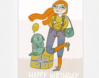 Cool Birthday - Greeting Card