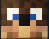 Your Choice Custom Minecraft video game painting