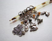 For the Love of Bunny Rabbits -  Non-Snag Stitch Markers for Knitters and Crocheters