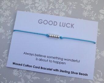 Good Luck Friendship Bracelet