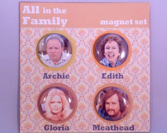 All in the Family classic TV refrigerator magnets