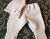 Baby Whisperer Collection - Light Peach Pants and Hat- RESERVED FOR JESSIE
