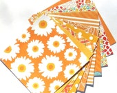 Tourmaline Orange - 6x6 Recollections Sweet Flora Paper Pack