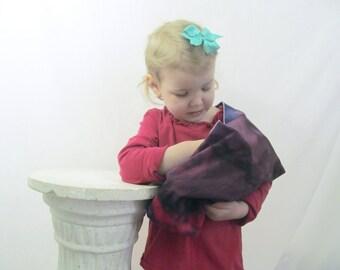 Children's Toy Doll Pouch -fun tie dye cotton