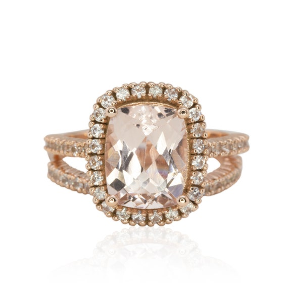 Alternative Engagement Ring Diamond By LaurieSarahDesigns