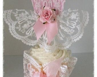 Birthday Decoration Beautiful Princess Dress Cupcake Topper Ballerina Tutu  for Birthday Party or Birthday Decorations