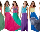 The Perfect Maximum Maxi Skirt. CYBER WEEKEND sale.  Normally 70 dollars.  HALF price.
