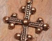 Coptic Cross in Copper Rose Bronze 113