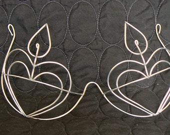 Heart Shape Custom Bra Wire Frame Design - New Design / Custom Made