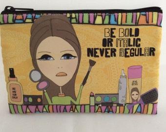 Makeup Bag  6x9