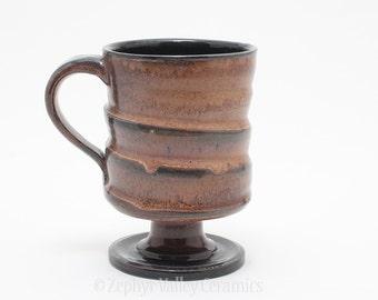 Ceramic Coffee Mug - Cup Goblet - Stoneware Drinking Vessel - Coffee Mug - Tea Cup - Latte Cup - Irish Coffee Mug