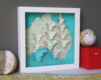 Bespoke Butterfly Map