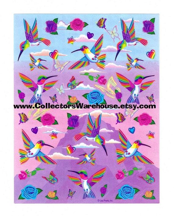Lisa Frank Dashly The Hummingbird Rose By CollectorsWarehouse