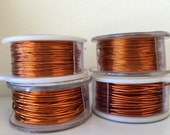 Amber (Coppery Orange) Colored Craft Wire - Pick Your Gauge - Custom Ordered