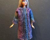 Multicolor Wool Barbie Coat