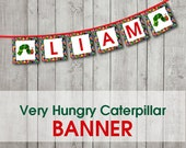 Very Hungry Caterpillar Banner (Digital File)