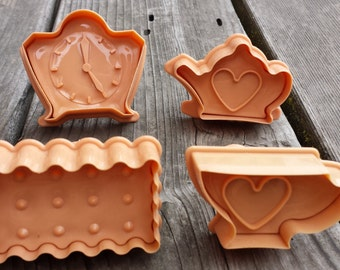 Tea Time Cookie Cutters