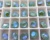 6 Pacific Opal Glacier Blue Swarovski Crystal Chaton  Stone 1088 39ss 8mm