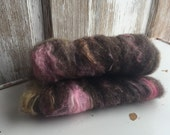 Art Batt: Thessalonica // ecoethical natural and low-impact dyed mixed fiber for spinning, felting, thrumming