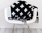Instant PDF Download, Crossroads Throw, Crochet Pattern