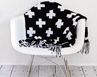 Instant PDF Download, Crossroads Throw, Crochet Pattern