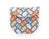 boys rosary pouch. catholic boy gift. football first communion baptism confirmation. padded pouch magnet snap.