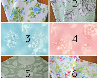 Floral Bundle of Cloth Napkins, set of 6