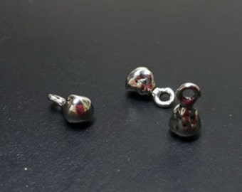 Dangles THREE Sterling silver Artisan 003