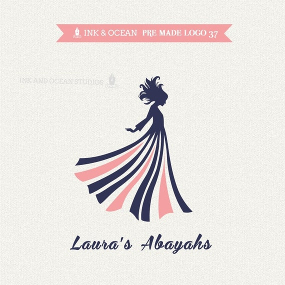 Boutique premade logo design for your business sewing