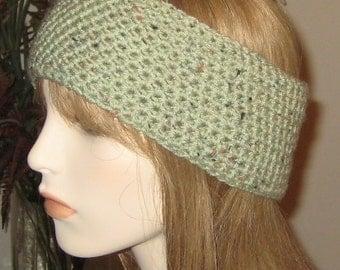Frosted Green Fleck Headband
