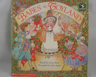 Babes in Toyland, vintage children's book