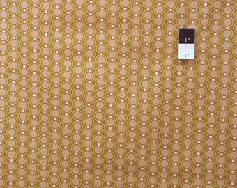 Joel Dewberry JD32 Modern Meadow Acorn Chain Maple Cotton Fabric 1 Yard