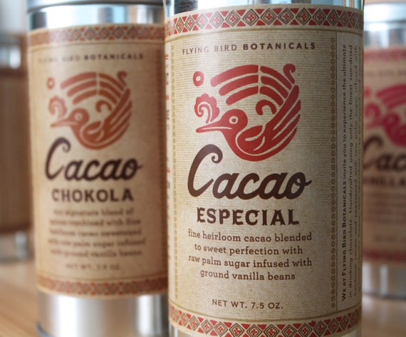 0400 Cacao Especial 7.5oz... 100% organic and fair trade drinking chocolate