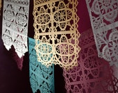 TALAVERA - papel picado banners - sets of 2 - custom colors