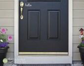 hello Front Door Vinyl Wall Art Graphic Stickers Decals 1712