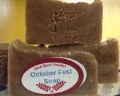 SALE - October Fest Soap - Handmade Bar Soap