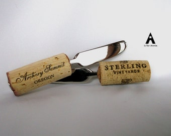 Wine cork canap spreader knives by annmarielarsoncrafts for Canape knife set