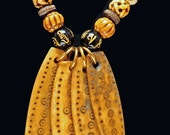 Shamans' Medicine Sticks and Carved Bone Beads