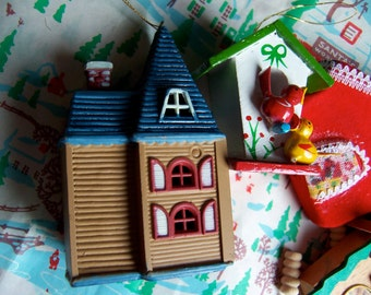 little houses variety christmas ornaments