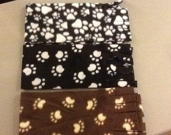 Fleece Scarves Many Patterns