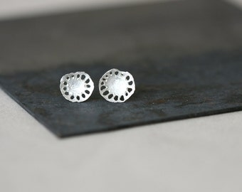 Kloro Studs - Sterling Silver Earrings