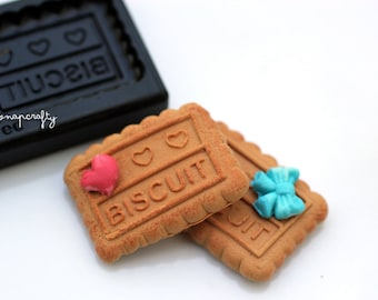 mini biscuit cookie mold for creating miniature clay sweets / top quality Floree all-in-one mold from Japan / diy clay miniatures