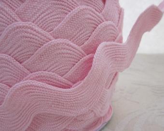 Extra Wide Pastel Pale Pink Jumbo Ricrac