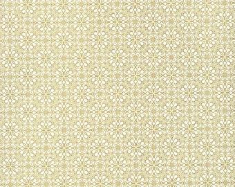 Golden Flowers Italian Print Paper ~ Rossi Italy  IPR142