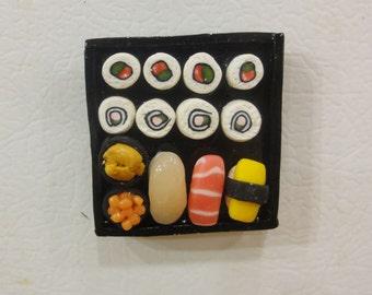 Sushi Tray Magnet OOAK