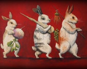 Rabbit Family by Tim Campbell